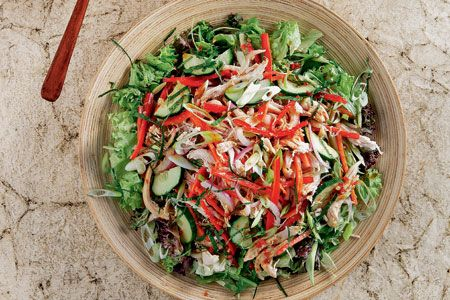 Ασιατική κοτοσαλάτα - Συνταγές | γαστρονόμος