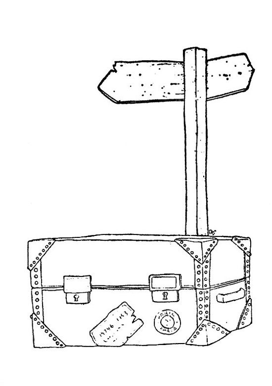 suitcase coloring page - ma