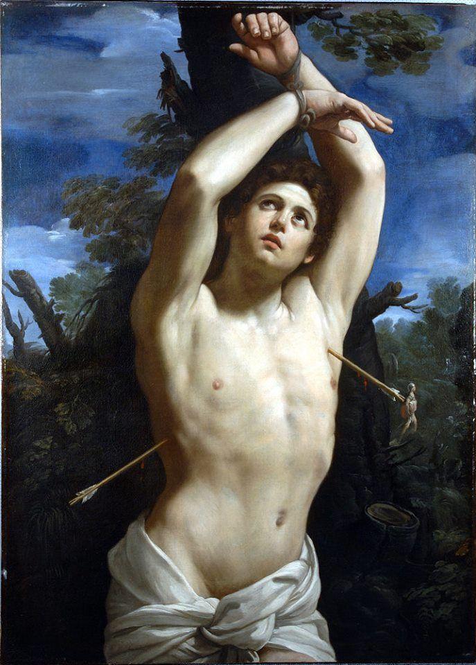 GUIDO RENI San Sebastiano (1615) Roma, Pinacoteca Capitolina