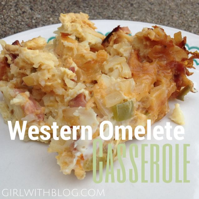 Western Sweet Dishes Recipes: Western Omelet Casserole // Great For An Early Easter