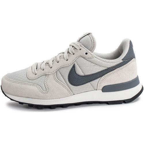 Nike Internationalist W Gris - Chaussures Baskets basses Femme 72,00 €