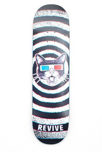 Revive 3D Skateboards - http://streetskatekings.blogspot.com/2017/03/revive-skateboards-spring-and-summer.html