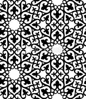 image detail for seamless islamic pattern royalty free stock vector art illustration