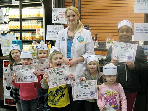 ShopRite's first #KidsCookMonday cooking class!