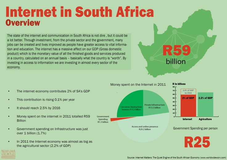 Internet in South Africa: overview