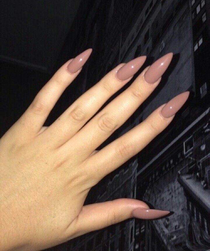 pinterest: @champagnekayyy ♥ | NAILS in 2019 | Nails, Nude ...