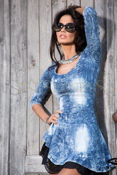 Mexton Never Old Blue Dress