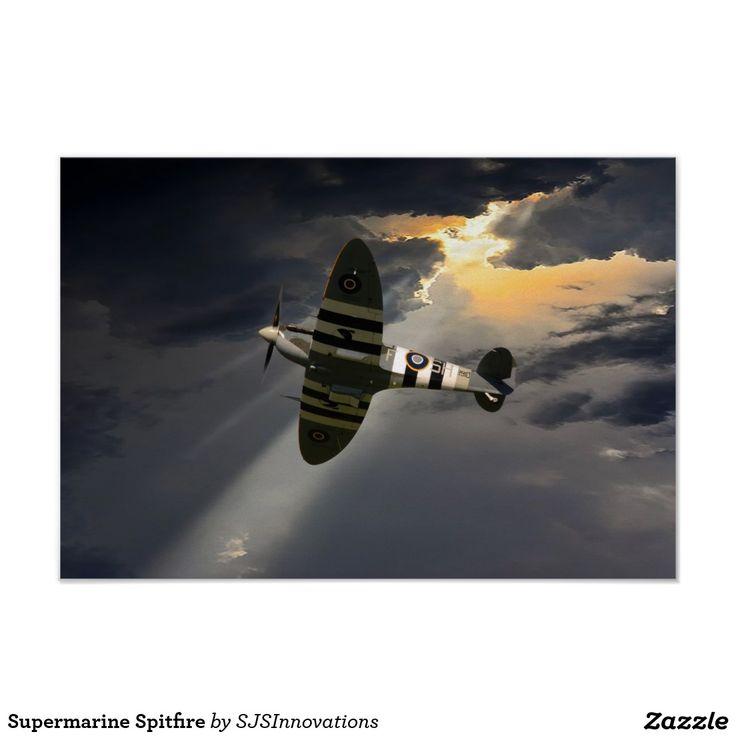 Supermarine Spitfire Poster