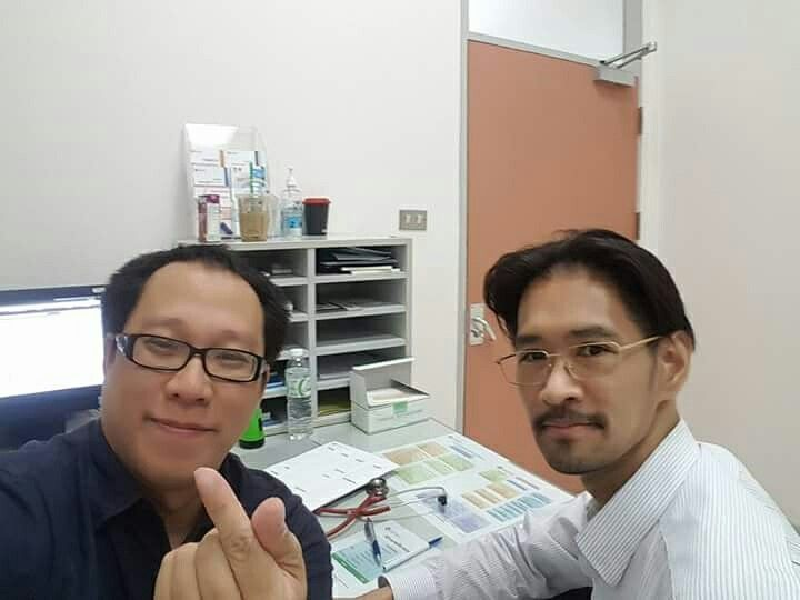 ST.Dominic 1984, 33 years of our friendship with Dr.Photchara Niniksarn at Praram 9 Hospital - Bangkok on July 23, 2017.