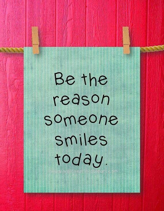 Når du hjælper andre til at få en god dag, bliver din dag også god.