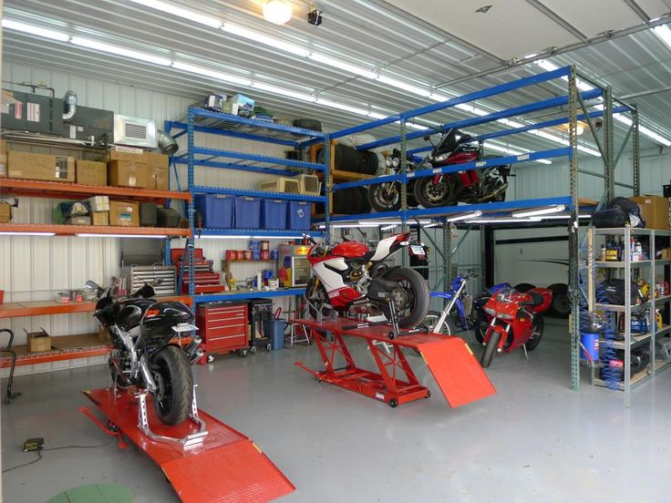 17 best motorcycle garage images on pinterest motorcycle garage motorcycle garages only page 37 the garage journal board sciox Images