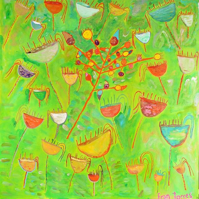 Obra: Ramas con Frutos Artista: Francisca Torres Zoom al Paisaje