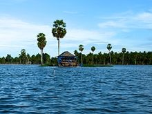 Danau Tempe, Kecamatan Tempe, Kabupaten Wajo, Sulawesi Selatan, Indonesia