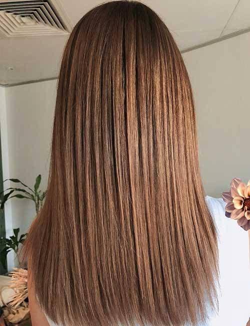 18 hellbraune Haarfarbe für ein cooles und charmantes Aussehen