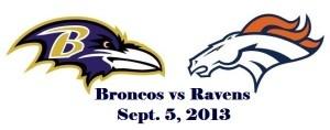 Watch Baltimore Ravens vs Denver Broncos NFL Live Stream September 5