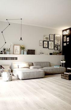 Salon contemporain et design