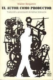 El autor como productor de Walter Benjamin (portada)