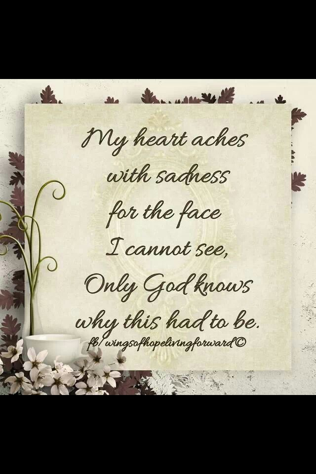 My heart is broken in many pieces. ..for many reasons...but our God is in control.