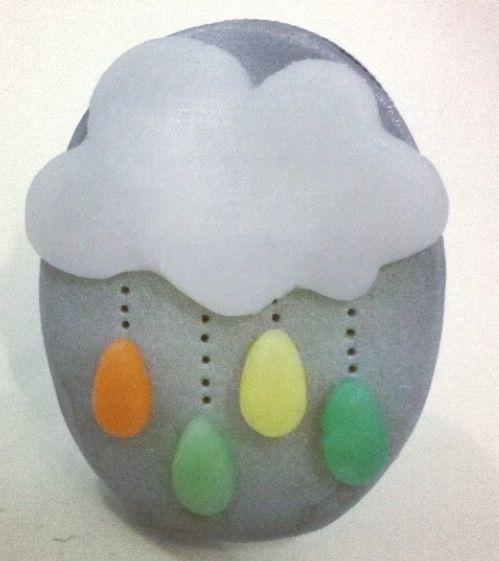 Cloud and rain ring