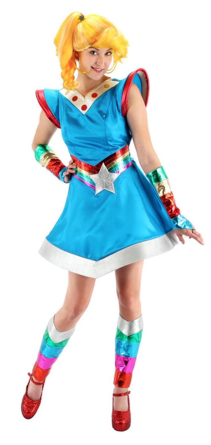 Results 181 240 of 644 for indoor halloween decorations - Rainbow Brite Costume Adult