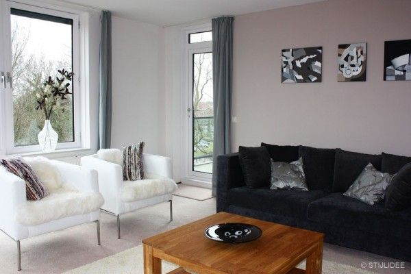 Verkoopstyling in ... een modern appartement in Monnickendam via www.stijlidee.nl