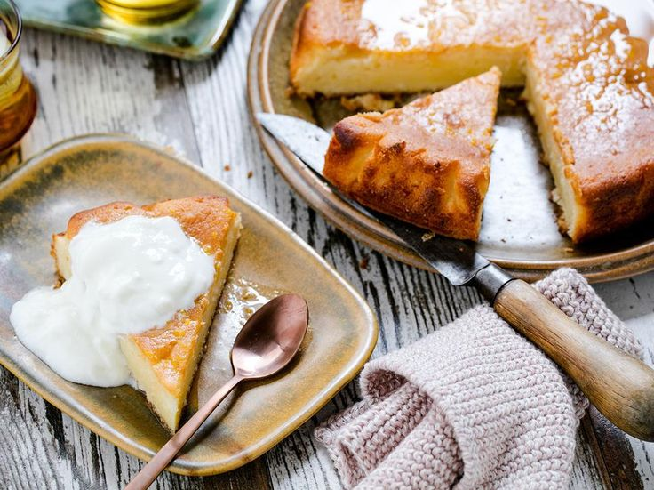 Lemon Yoghurt Cake Recipe - Viva