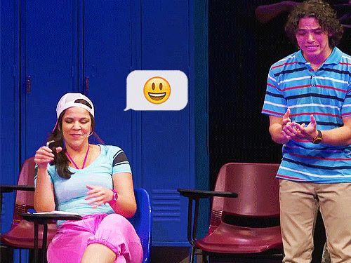 Lindsay Mendez and Anthony Ramos in Lin-Manuel Miranda's '21 Chump Street'