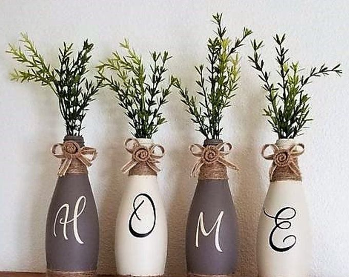 Creative Farmhouse Wine Bottle Diy Rustic Lanterns For Your Home Or Patio Decoratind Country Home Decor Ideas Maison Rustic Diy Rustic Lanterns Handmade Home