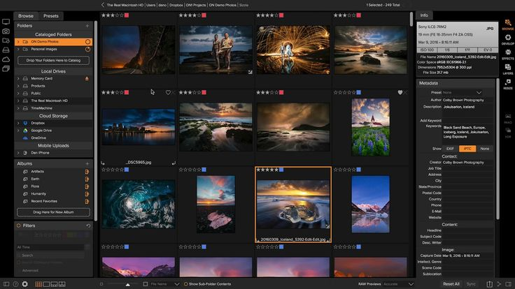 Getting Started in the Browse Module – ON1 Photo RAW - Getting started with the easiest way to manage and organize your digital photos, the Browse module of ON1 Photo RAW 2018. This is where you are going to start when you use the app. It's where you will find your photos, organize and manage your photos, and do all of those Digital Asset Management (DAM) tasks that are required to keep your photos organized and well presented.  Learn what and where all the tools are, what the keyboard…