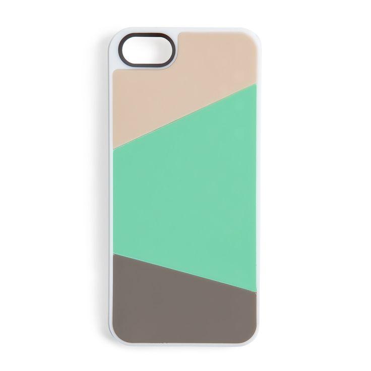 Mix + match paneled iphone case