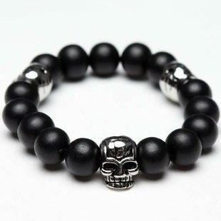 cool braceletBeads Bracelets, Skull Bracelets, Skull Beads, Wedding Band, Beaded Bracelets, Men Fashion, Bridal Sets, Emeralds Cut Diamonds, Engagement Rings