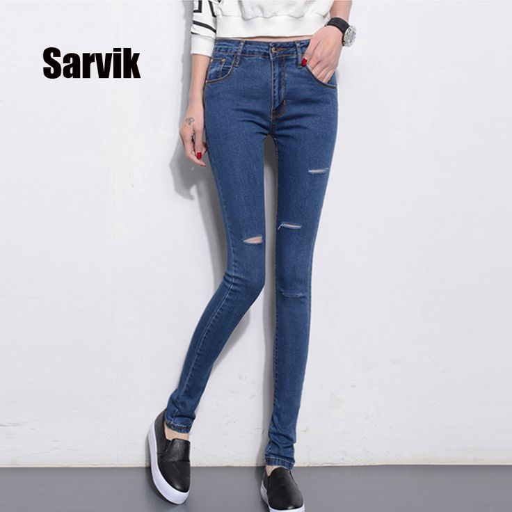 #aliexpress, #fashion, #outfit, #apparel, #shoes Sarvik, #High, #Stretch, #Skinny, #<font><b>Women</b></font>, #Ripped, #Jeans, #Pants, #<font><b>Summer</b></font>, #2016, #Plus, #Size, #Denim, #Jeans, #Trousers, #For, #Female, #Ladies, #Jeans, #Leggings http://s.click.aliexpress.com/e/72F2Ju7AE