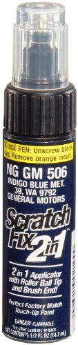 Dupli-Color NGGM506 Indigo Blue Metallic General Motors Exact-Match Touch-up Paint - 0.5 oz.