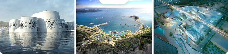 Worlds Fair 2012 in Yeosu, South Korea. May 12th to August 12th.