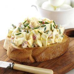 Russian Egg Salad...this recipe is soooooooo good!