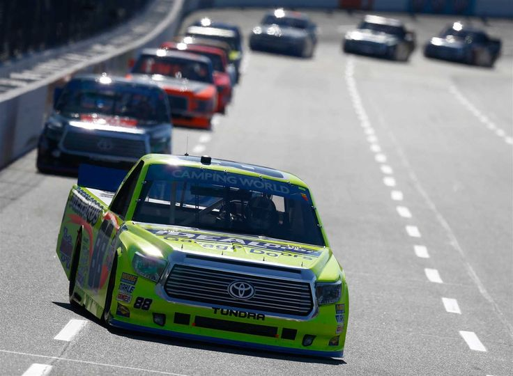 Five to watch: Martinsville  By Zack Albert, NASCAR.com | Wednesday, March 29, 2017  Truck tango   The NASCAR Camping World Truck Series also returns to action this weekend for Saturday's Alpha Energy Solutions 250 (3 p.m. ET, FOX, MRN, SiriusXM NASCAR Radio). With drivers coming off a four-week break early in the season, expect some restless temperaments as they're eager to get back in the rhythm.  Photo Credit: Getty Images  Photo: 6 / 6