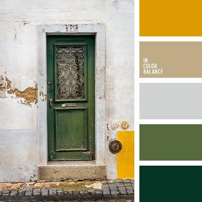 бледно-серый, грязно-желтый цвет, желтый и зеленый, зимняя палитра, оттенки серого, палитра цветов, подбор цвета, серый и зеленый, темно серый, темно-серый и желтый, цвет инея, цветовое решение, цветовое сочетание.