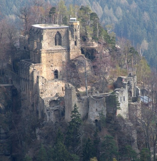Kloister ruin at Oybin