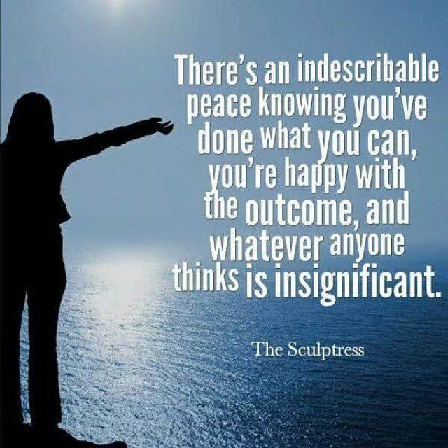 High Quality Indescribable Peace   Peace Quotes