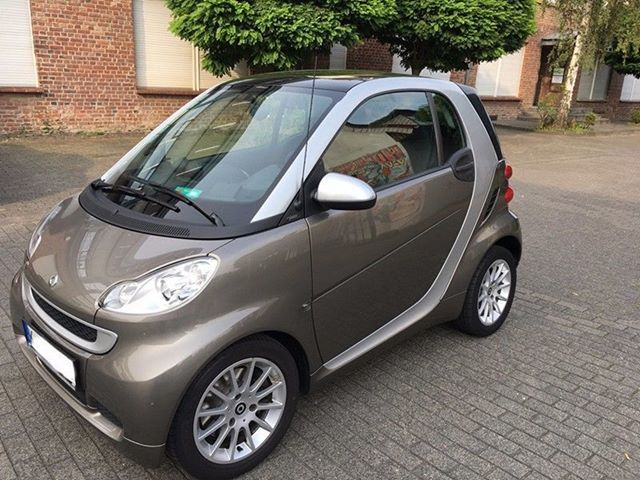 Hello You Smart One Fortwo Smart451 Brown Germany Coupe Car Smartcar City Streets Alloy Silver Fast