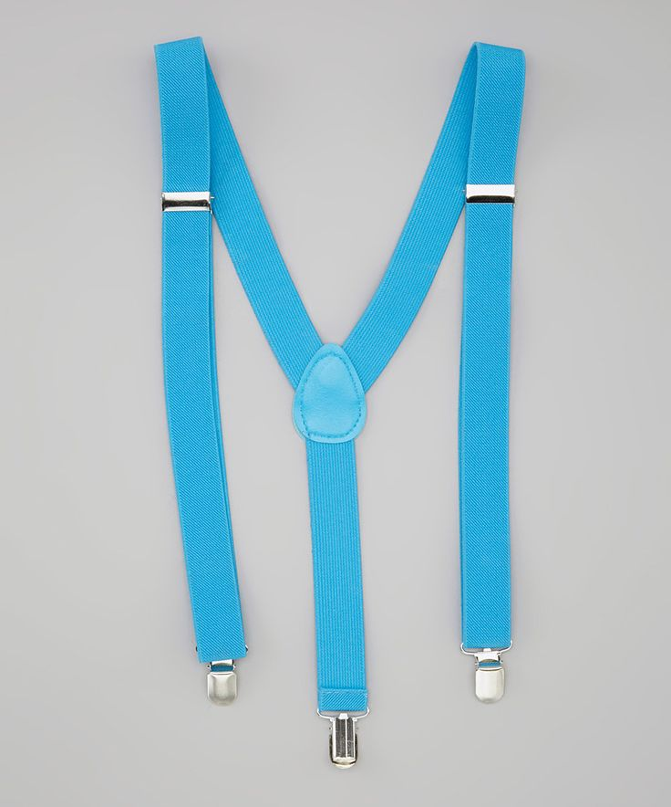 Loving this Blue Suspenders on #zulily! #zulilyfinds