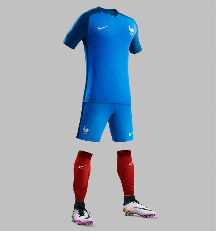 The new France Euro 2016 Home Kit introduces a ultra-modern design for Les Bleus.
