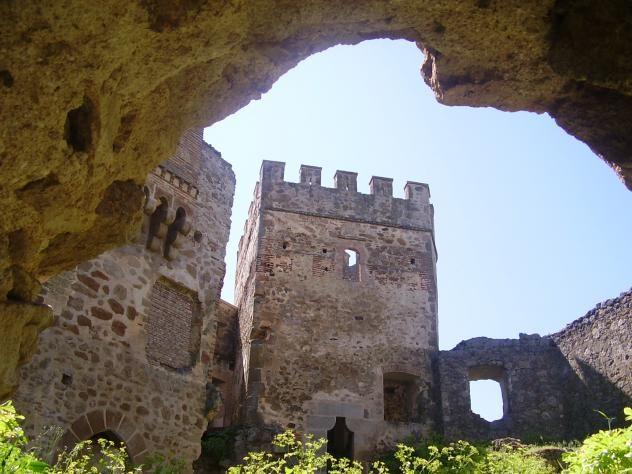 Una de las torres del castillo.