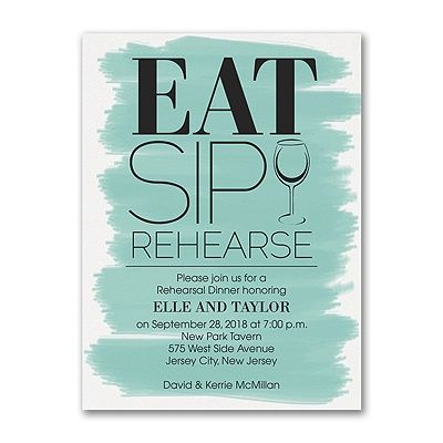 18 best Rehearsal Dinner Invitations \ Napkins images on Pinterest - invitation for a get together