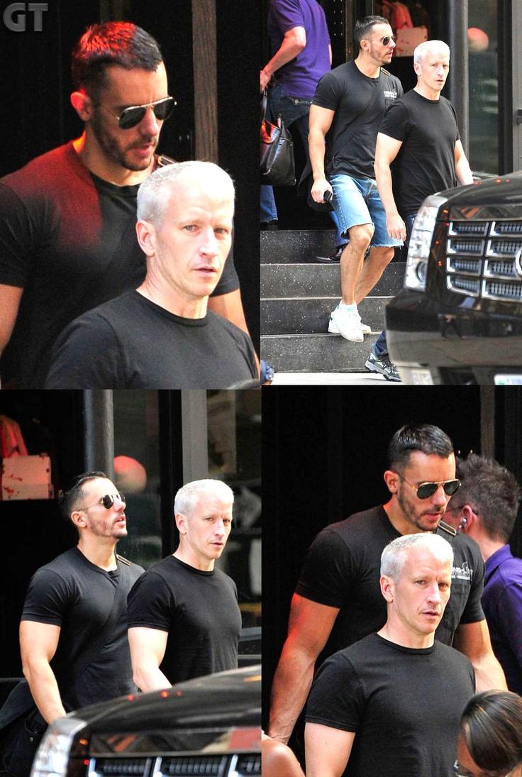 Anderson Cooper + Benjamin Maisani