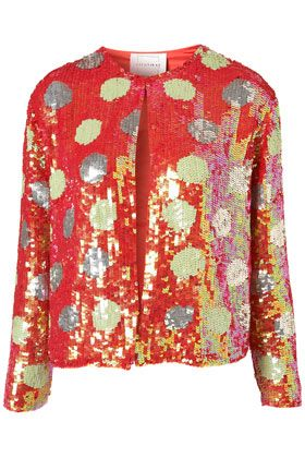 Polka Dot Sequin Jacket By Louise Gray: Polka Dots, Louise Gray, Saia Mini-Sequins, Jackets Louise, Fashionista Style, Topshop Polka, Dots Sequins, Louis Gray, Sequins Jackets