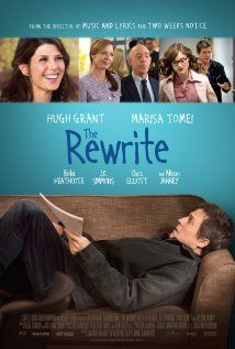 The Rewrite (2014)  An Oscar-winning writer in a slump leaves Hollywood to teach screenwriting at a college on the East Coast, where he falls for a single mom taking classes there.  Director: Marc Lawrence Writer: Marc Lawrence Stars: Marisa Tomei, J.K. Simmons, Allison Janney