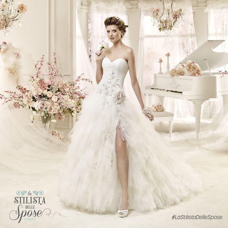 Episodio 2 - L'abito indossato da Ilaria, una frizzante sposa ballerina. Wedding Colet dress with flower 2016 collection.  http://www.nicolespose.it/it/abito-da-sposa-Colet--COAB16282-2016 #Nicole #Colet #collection #nicolespose #alessandrarinaudo #wedding #flower #flowers #abitidasposa #bianco #white #weddingdress #sposa #bride #brides #bridal #LaStilistaDelleSpose #realtime