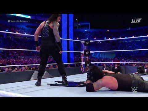 The Undertaker vs Roman Reigns WRESTLEMANIA 33 Full Match