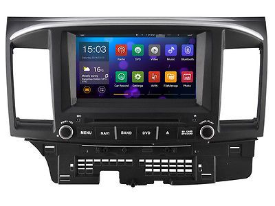 Android 5.1.1 Car GPS navigation system For MITSUBISHI LANCER 2007-2012